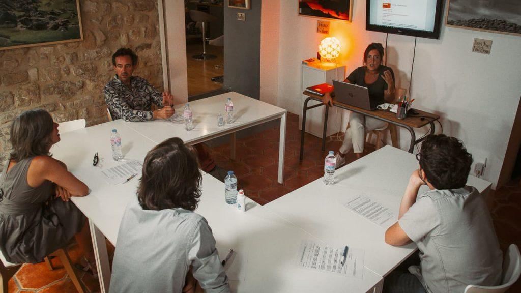 Photo d'une formation en anglais professionnel chez Speakeasy